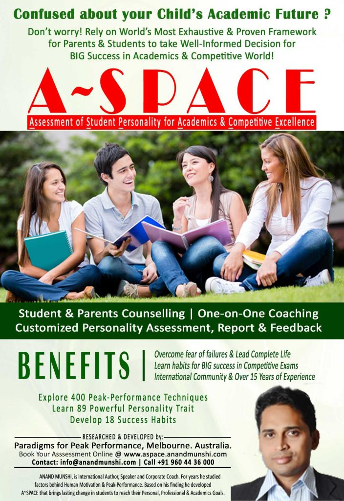 ASPACE – Student Assessment Program