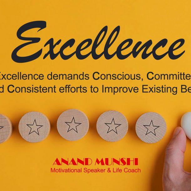 Excellence Demands