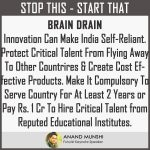 How India Can Stop Brain Drain and Start Innovation