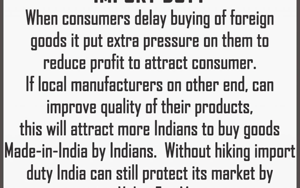Global-Futurist-View-India-dont-have-to-hike-import-duty