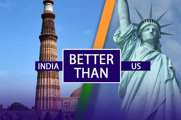 India better than US – Motivational Speaker in India