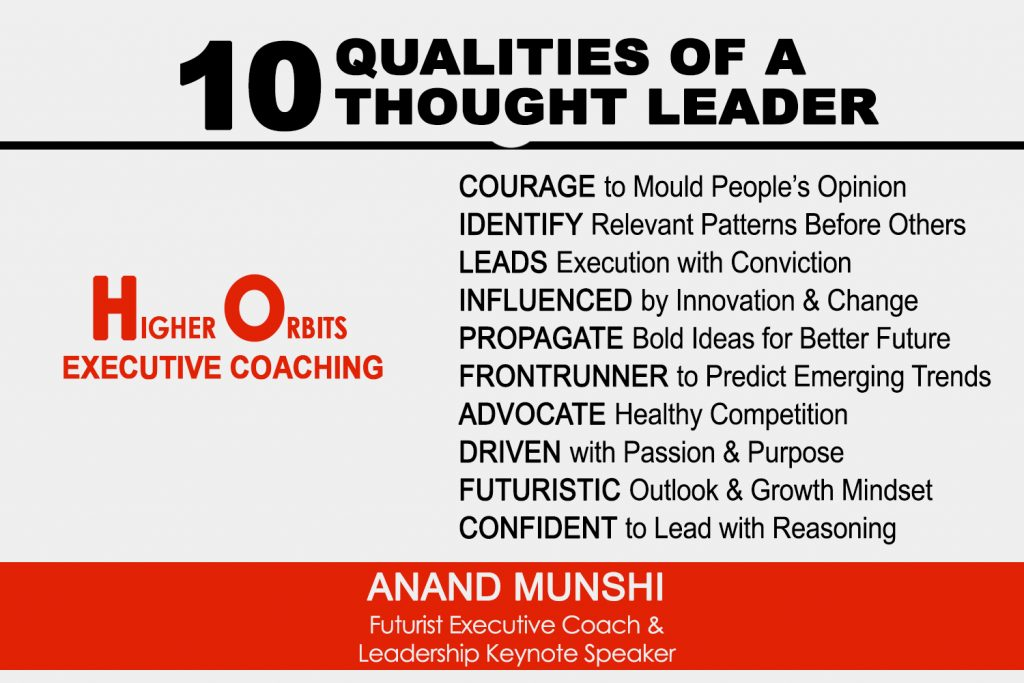 Top 10 Qualities of A Thought Leader