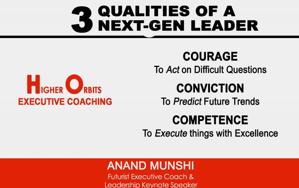 Three Qualities of Next-Gen Leaders