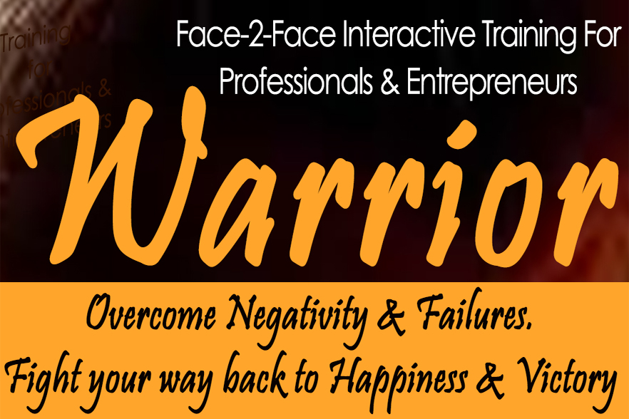 The Warrior – Training for Professionals & Entrepreneurs