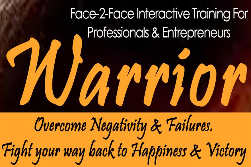 The Warrior - Training for Professionals & Entrepreneurs