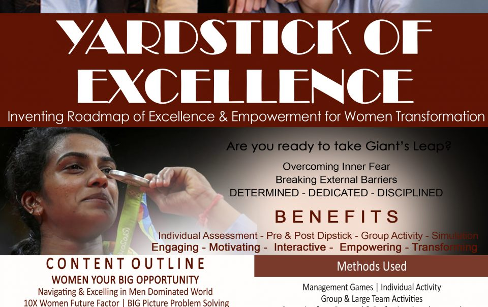 Women-Empowerment - Yardstick of Excellence